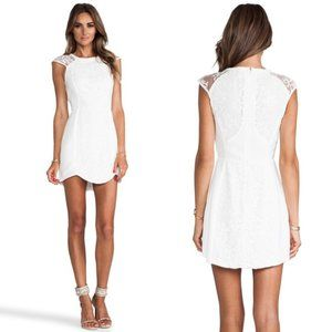 NWT Cameo Into The Flame Dress in Ivory